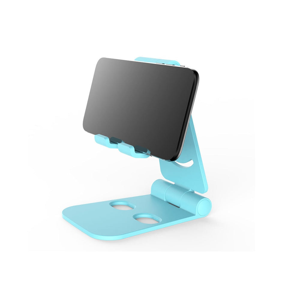 Universal Adjustable Mobile Phone Holder For iPhone Huawei Xiaomi Samsung Plastic Phone Stand Desk Tablet Folding Stand Desktop