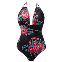 Plus Size Tummy Control Swimswuit