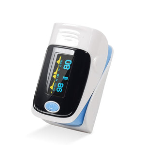Medical Household Digital Fingertip pulse Oximeter Blood Oxygen Saturation Meter Finger SPO2 PR Monitor CE Portable