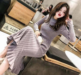Maxi Sweater Dress Women