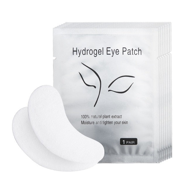 Pairs Pad Gel Grafting Under Eyelash Wraps Makeup Tools