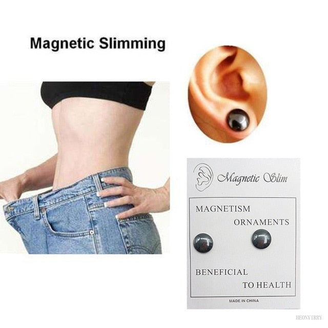 Magnetic Slimming Earrings for Weight Lose