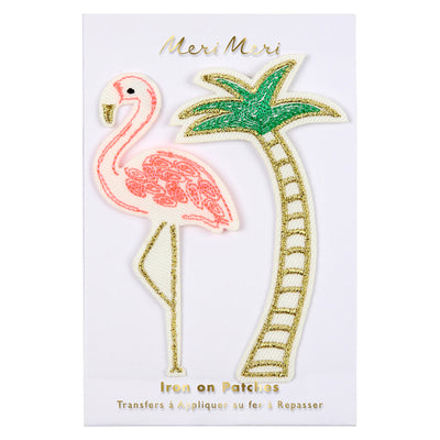 "Patch Thermocollant ""Flamant Rose"""