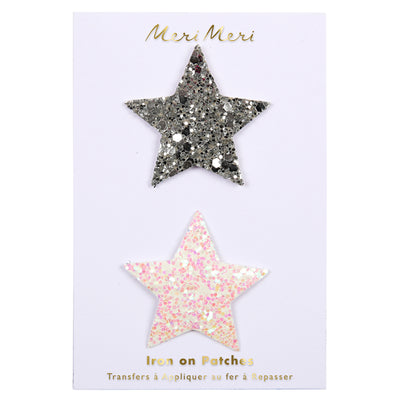 "Patch Thermocollant ""Etoiles Paillettes"""