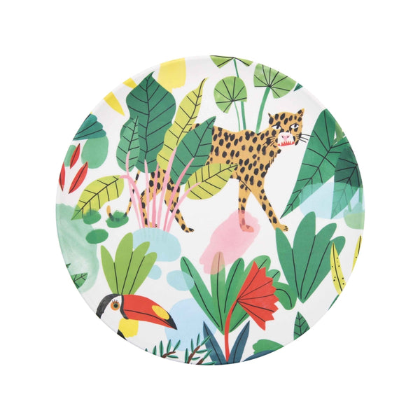 Assiette bambou jungle Bodil jane