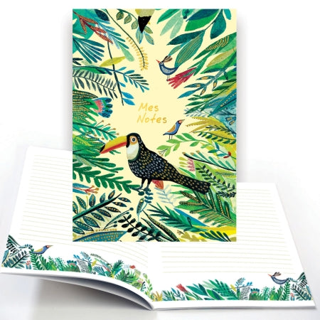 carnet original tropical toucan