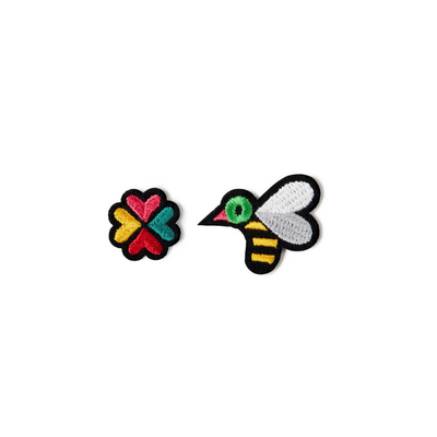 patch thermocollant abeille fleur macon et lesquoy