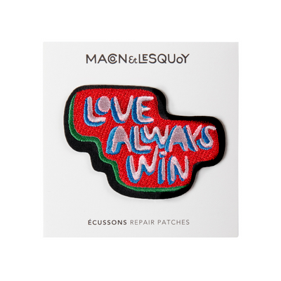 patch thermocollant love wins macon et lesquoy