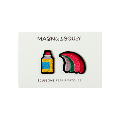 patch thermocollant spray + rainbow macon et lesquoy