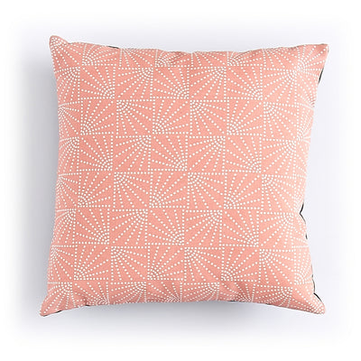 "Coussin ""Eventail"" Corail"