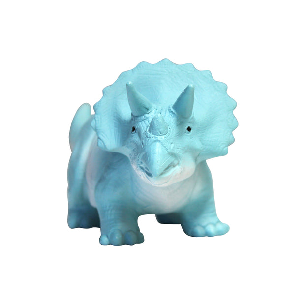 Veilleuse Triceratops Turquoise