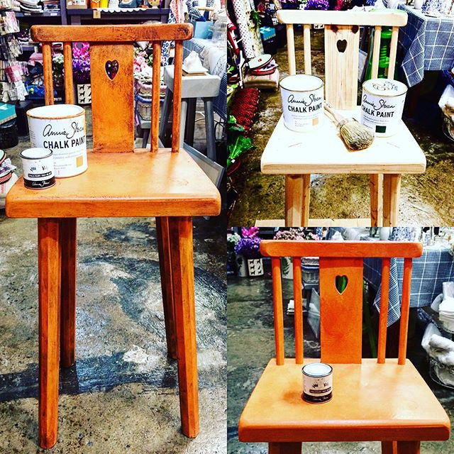 Annie Sloan Chalk Paint In Action - Bring those old bits of furniture back to life !