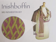 Load image into Gallery viewer, Inishbofin – Celtic Pashmina Scarf