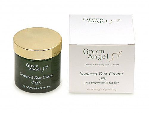 Green Angel Seaweed Foot Cream with Peppermint & Tea Tree