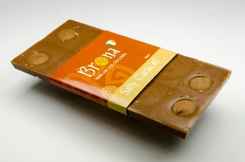 Brona Handmade Chocolate Salty Caramel Bar