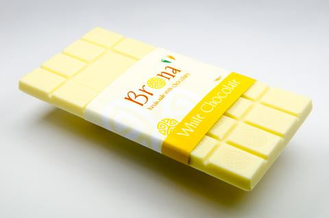 Brona Handmade Chocolate White Chocolate Bar