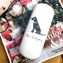 Load image into Gallery viewer, Her Ladyship (Labrador) Glasses Case