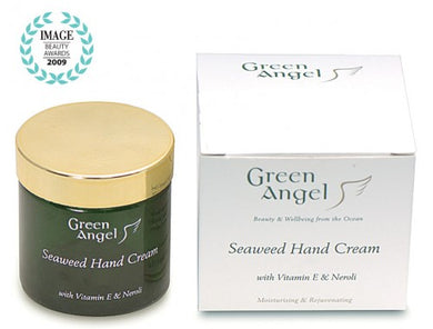 Green Angel Seaweed Hand Cream with Vitamin E & Neroli