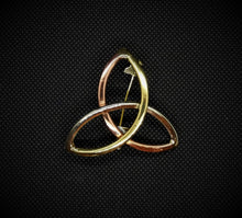 Grange Celtic Jewellery Celtic Triquetra Knot Brooch