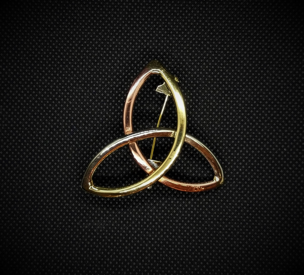 Celtic Triquetra Knot Brooch