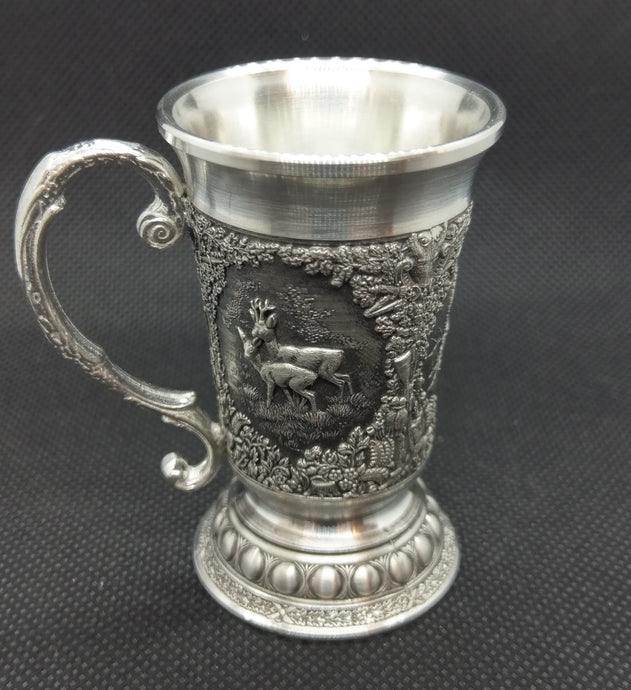 Mullingar Pewter Mini Woodland Tankard