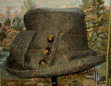 Load image into Gallery viewer, Designer Hat - Tweed Hat