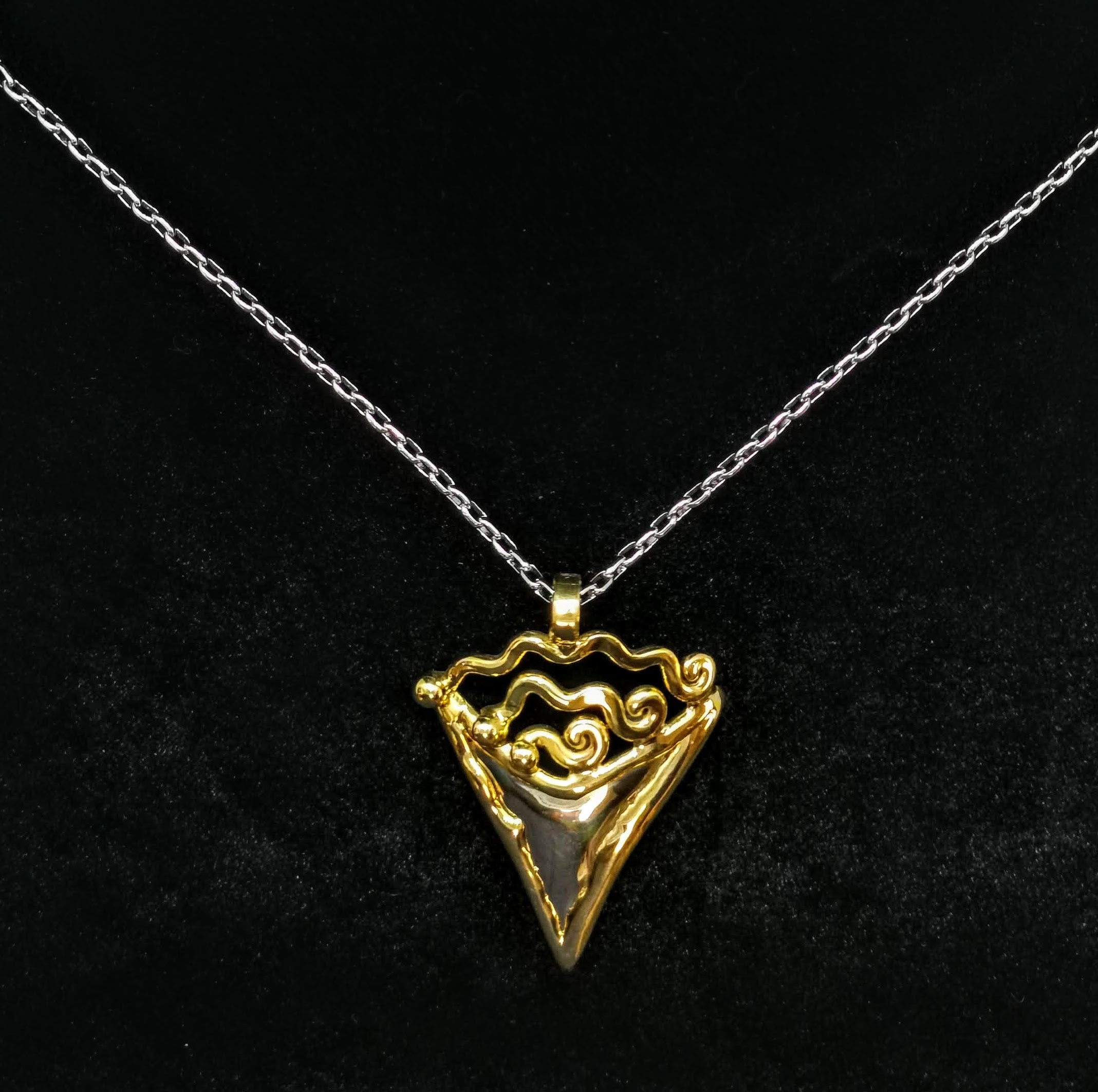 V-Shape Celtic Necklace