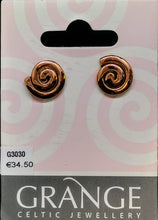Load image into Gallery viewer, Simple Spiral Stud Earrings