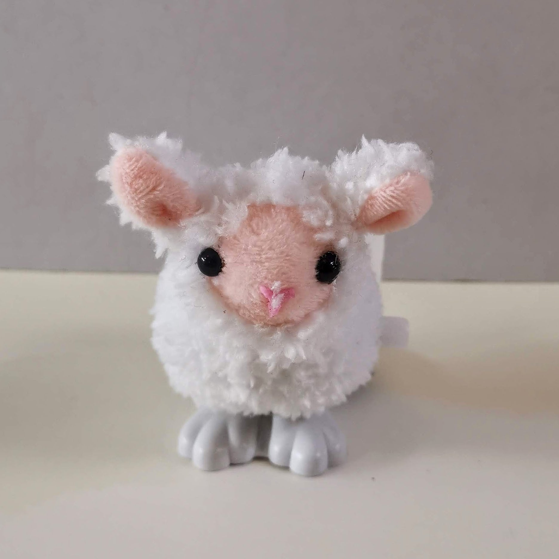 Wind Up Furry Sheep