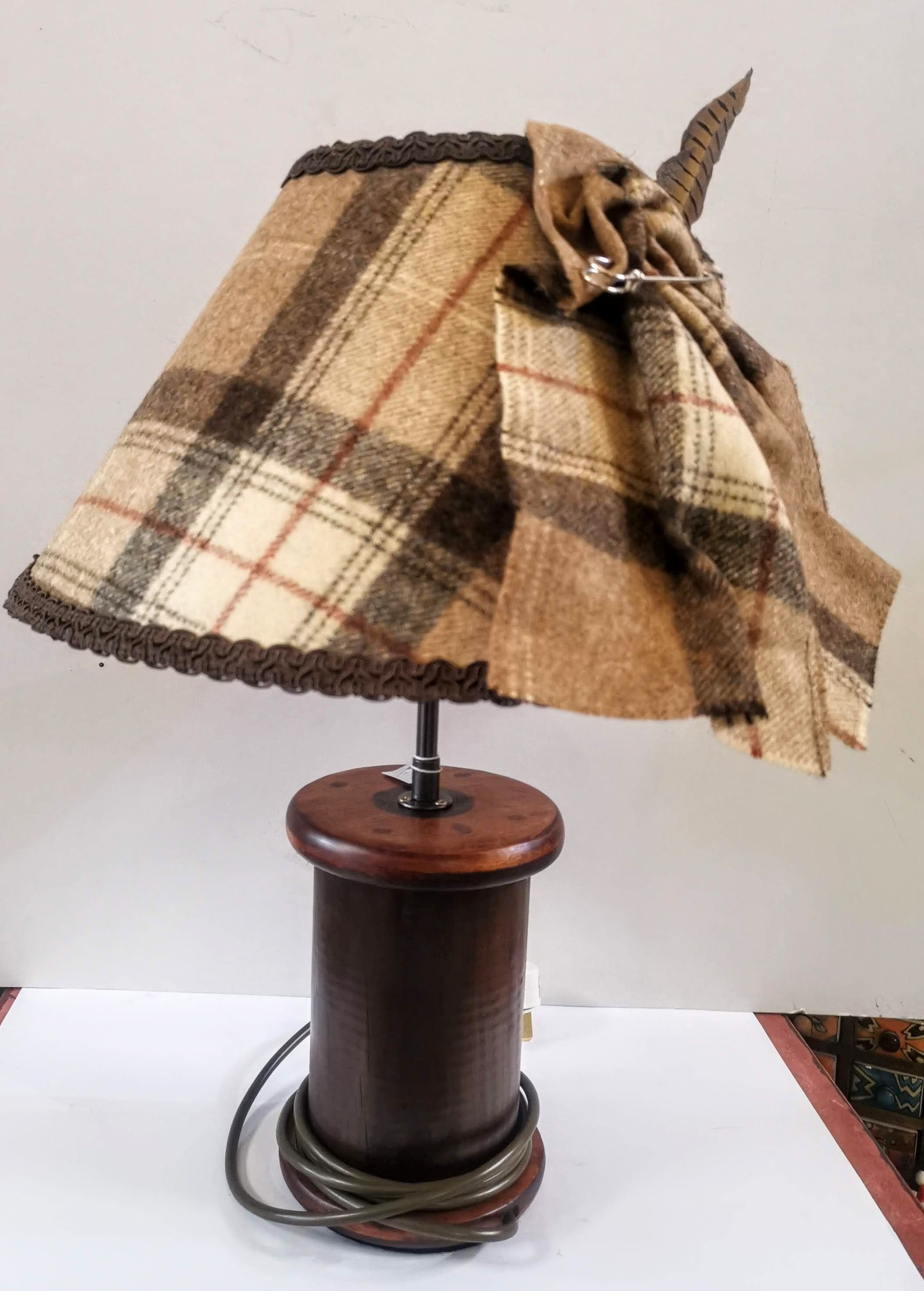 Fat Bobbin Table Lamp (lamp only shade sold separately)