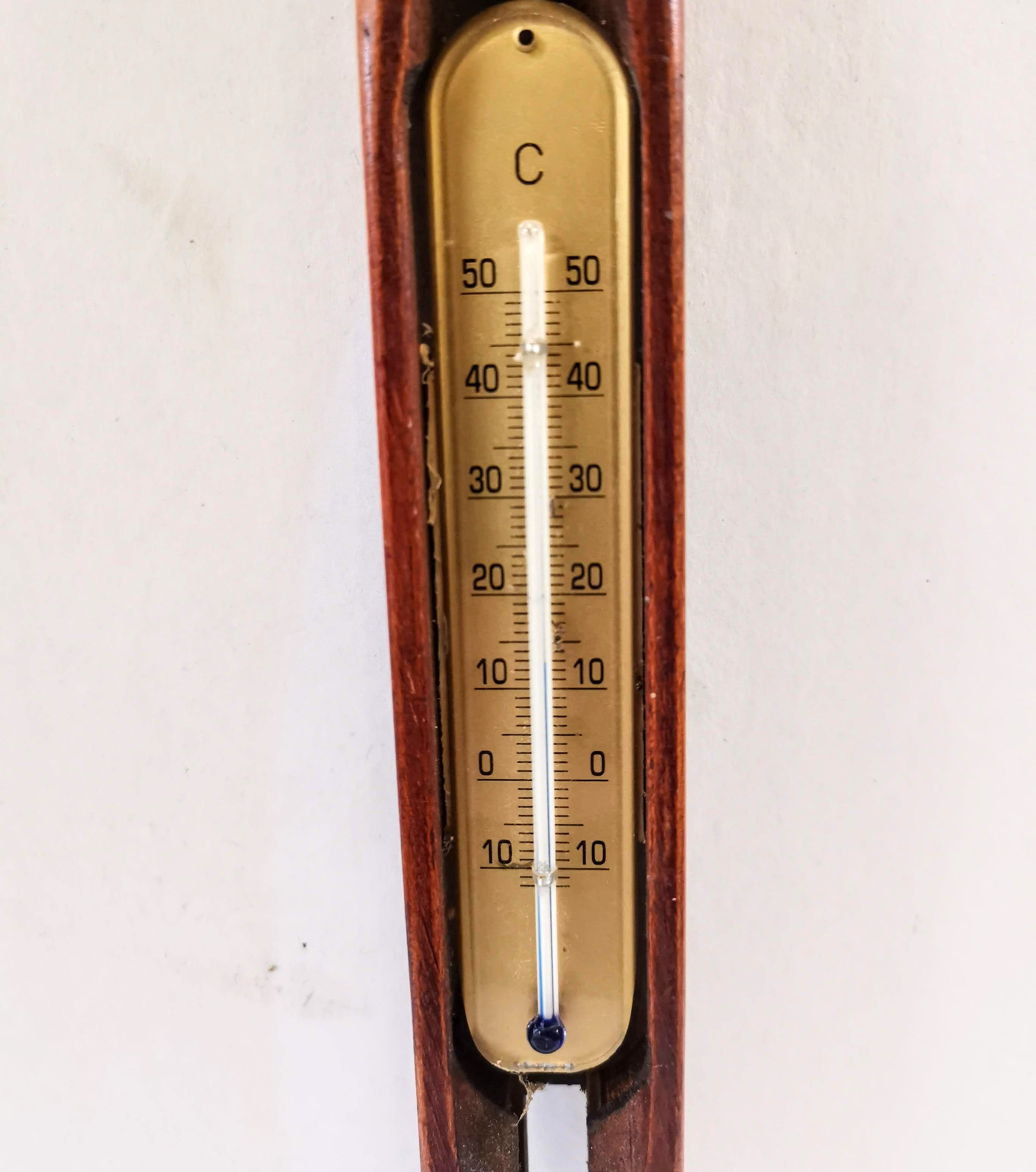 Thermometer within Flying Shuttle