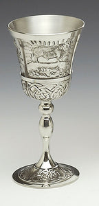 Mullingar Pewter Mythical Ireland Goblet - Queen Maeve