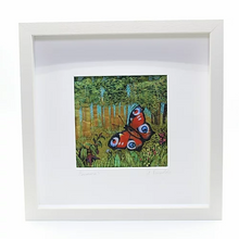 Load image into Gallery viewer, The Seasons - Framed Textile by Anita Reynolds