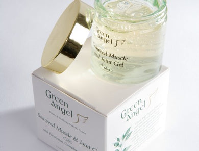 Green Angel Seaweed Muscle & Joint Gel with Eucalyptus, Camphor & Rosemary
