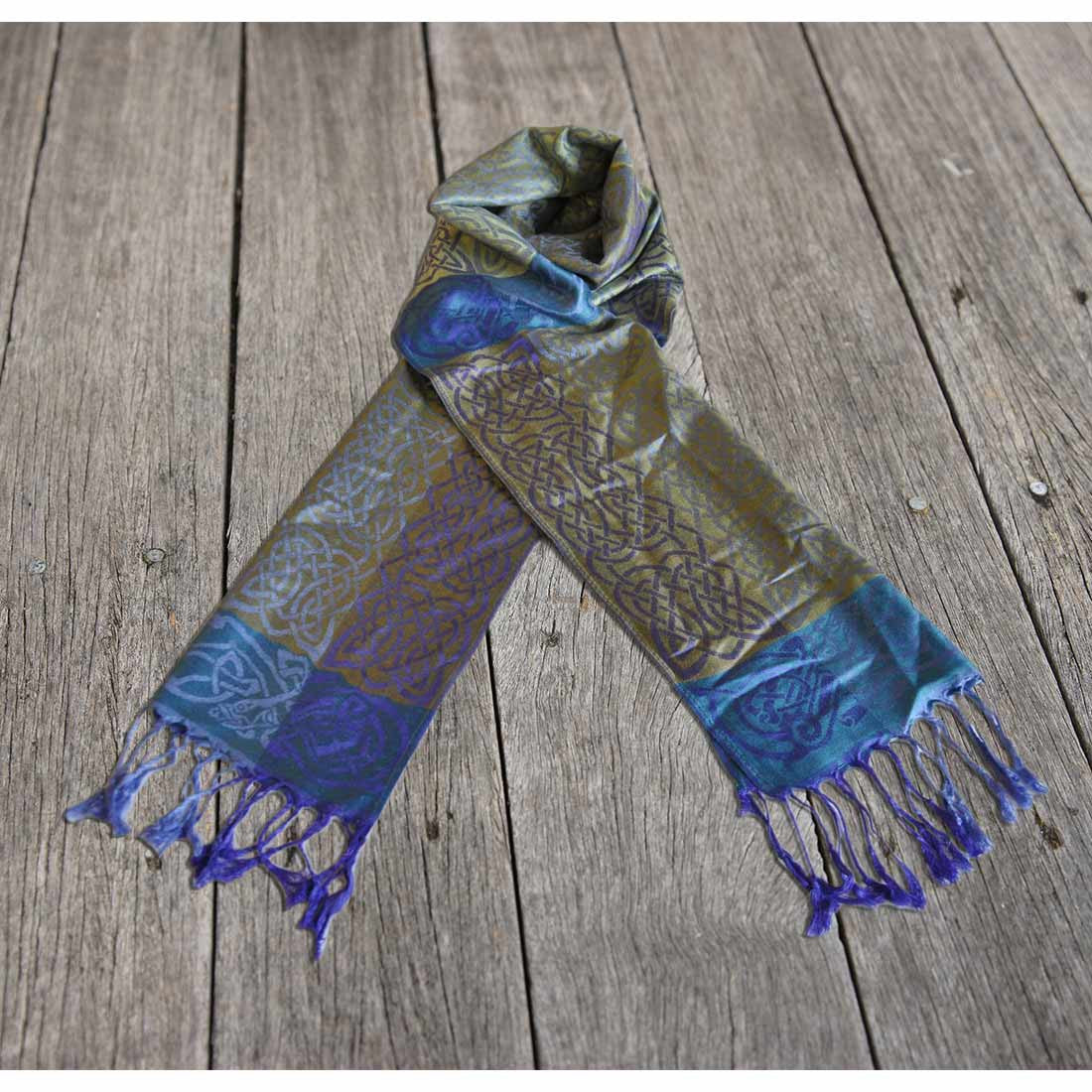 Rathlin – Celtic Pashmina Scarf