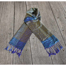 Load image into Gallery viewer, Rathlin – Celtic Pashmina Scarf