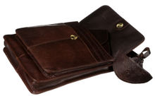 Load image into Gallery viewer, Tinnakeenly Brown Leather Sling Bag