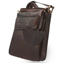 Load image into Gallery viewer, Tinnakeenly Brown Leather Pup Bag