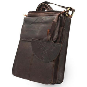 Tinnakeenly Brown Leather Pup Bag