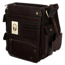 Load image into Gallery viewer, Tinnakeenly Brown Leather Utility Bag