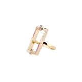Galactic Open Rectangle Ring