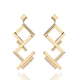 Deco Bar Graphic Earrings
