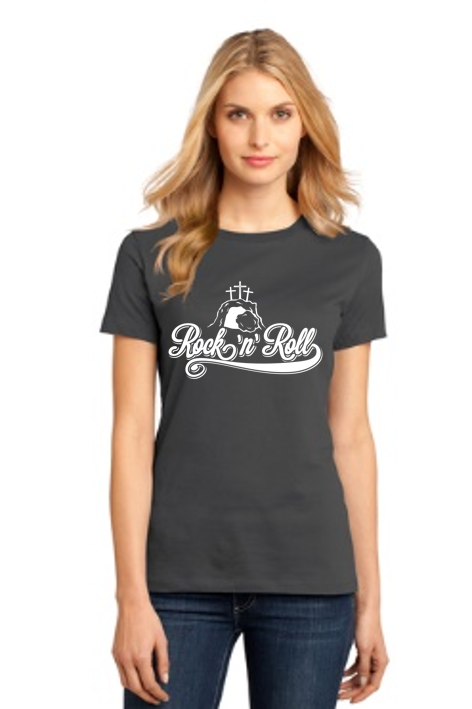 Rock and Roll Womens Tee - Shepherds Treasure