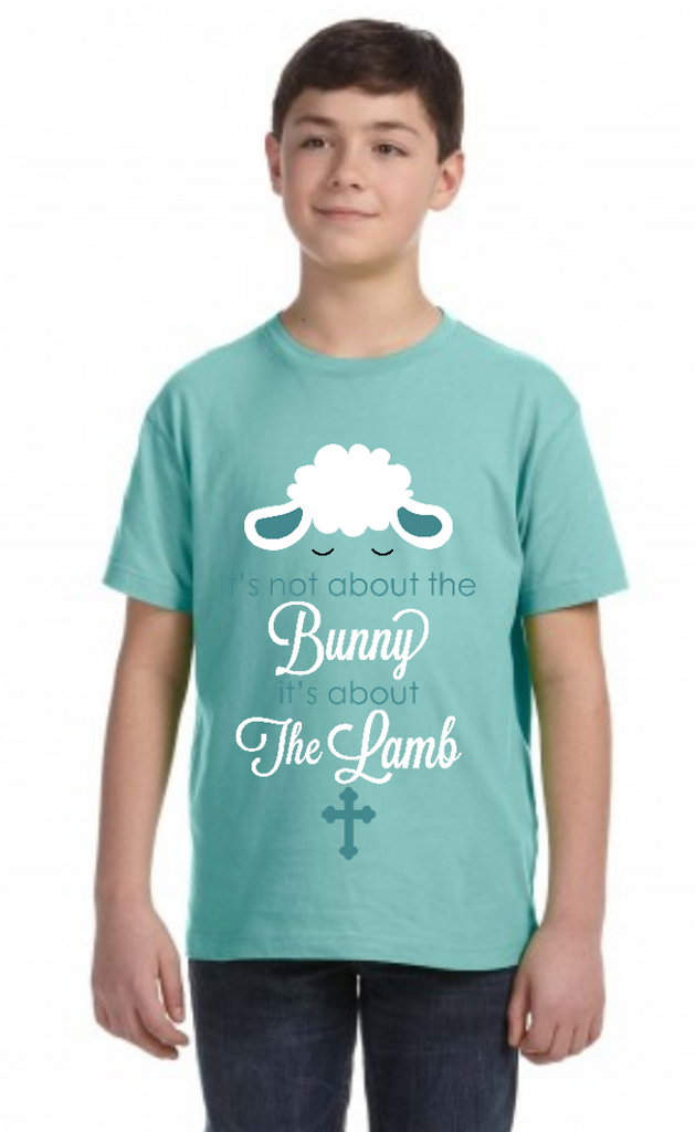 Its not about the bunny its about the lamb BOY Youth Tee