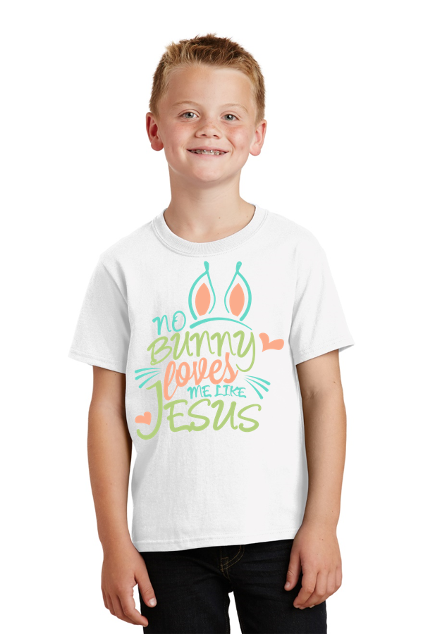 No bunny loves me like Jesus Youth Tee