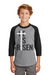 He Is Risen Junior Raglan Tee - Shepherds Treasure