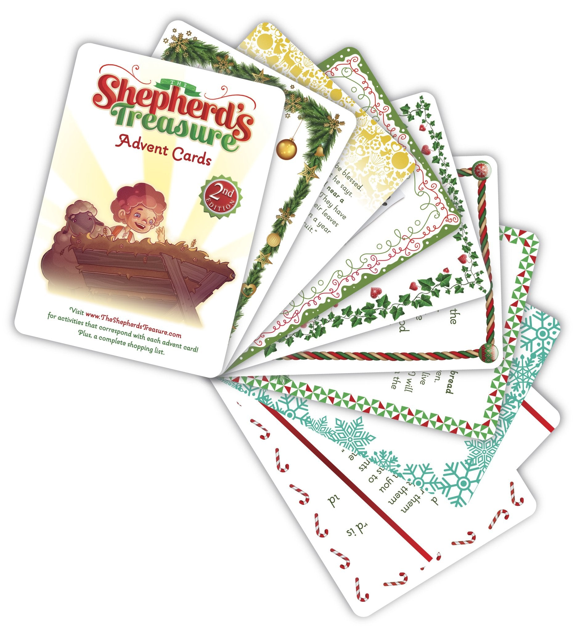 The Shepherd's Treasure Advent Cards (Second Edition)