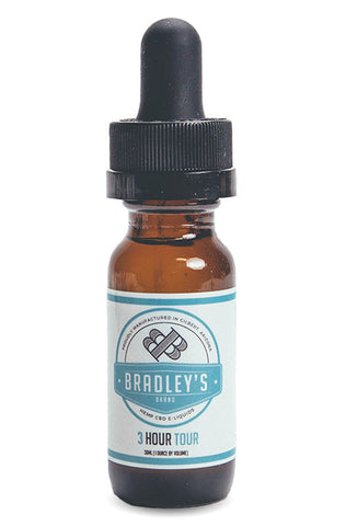 Vapor - E Cig Juice - 3 Hour Tour 120 mg pure CBD