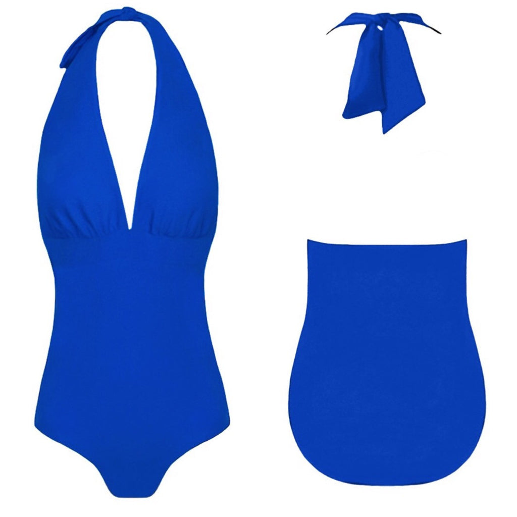 BARBARA One-Piece Swimwear - Azul Klein