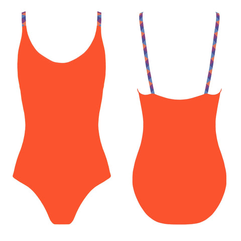 PALOMA One-Piece Swimwear - Naranja